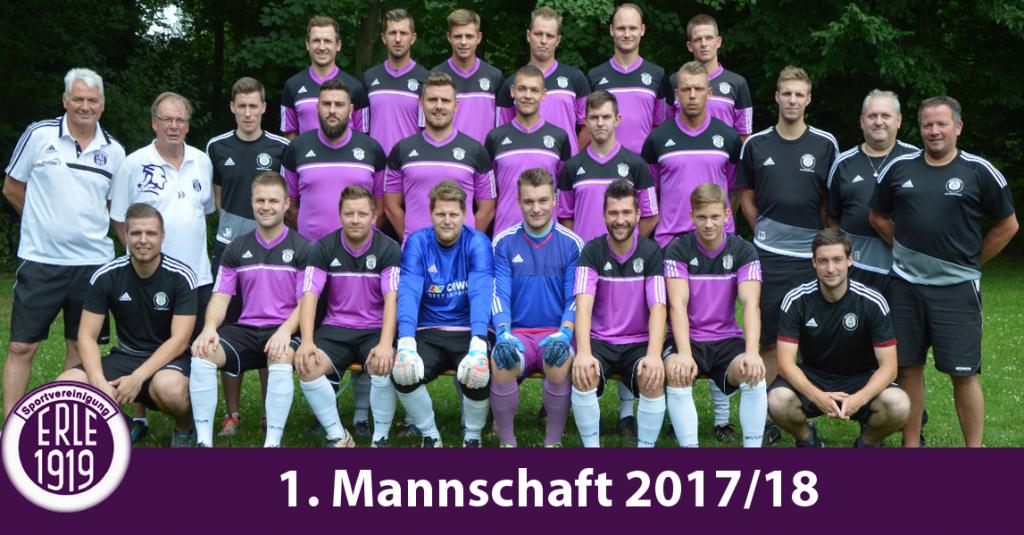 1. Mannschaft 2017/18