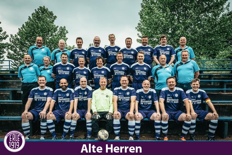 Mannschaftsfoto Alte Herren