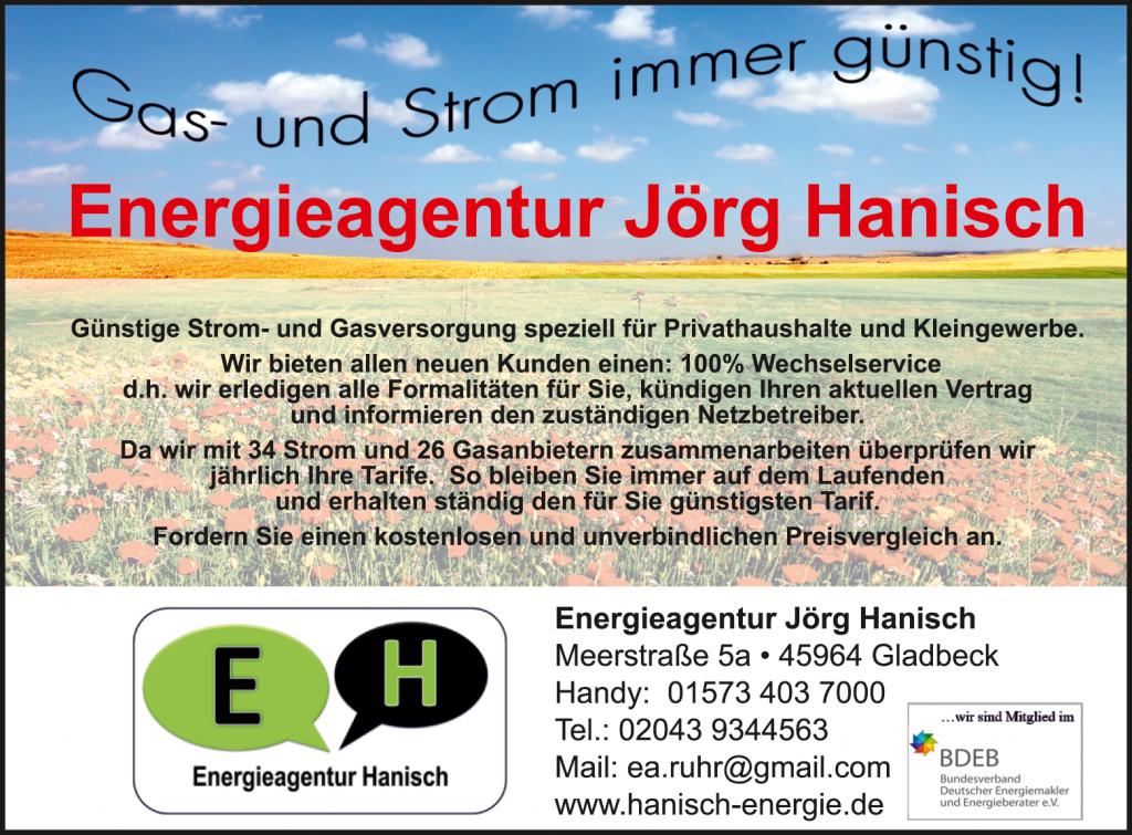 Sponsor Hanisch Energie