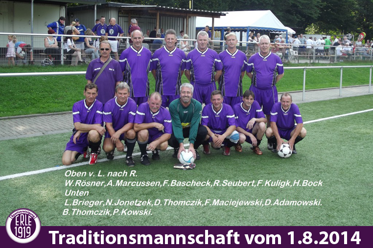 Traditionsmannschaft 2014