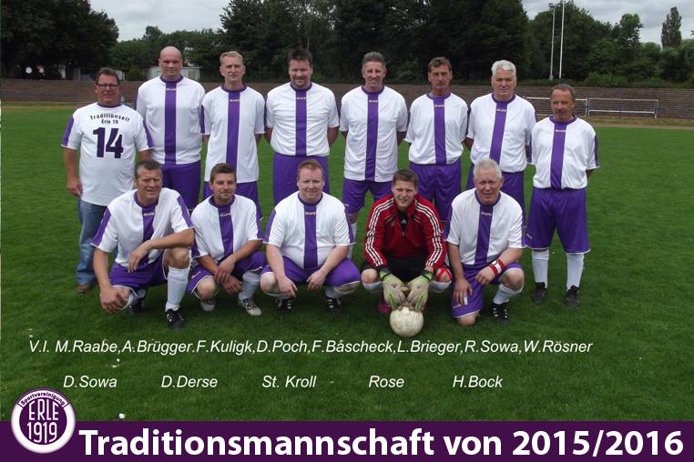 Traditionsmannschaft 2015/2016