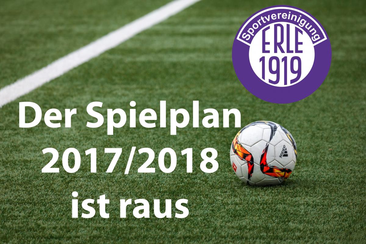 Spielplan 2017/2018