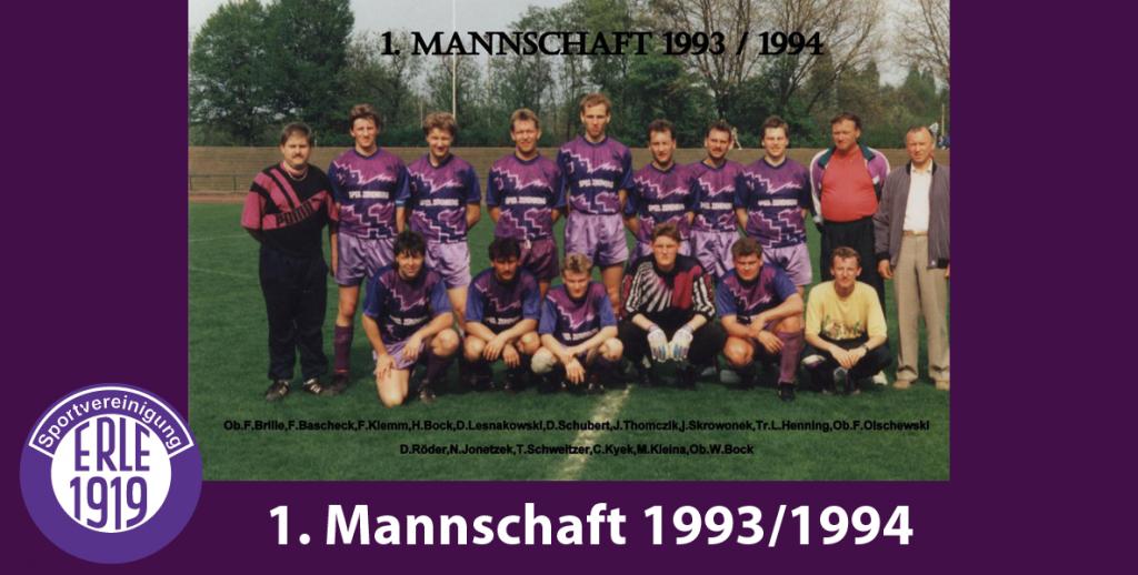 1 Mannschaft 1993/1994