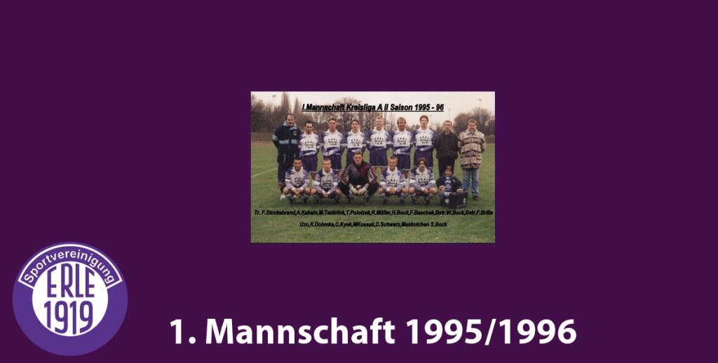 1 Mannschaft 1995/1996