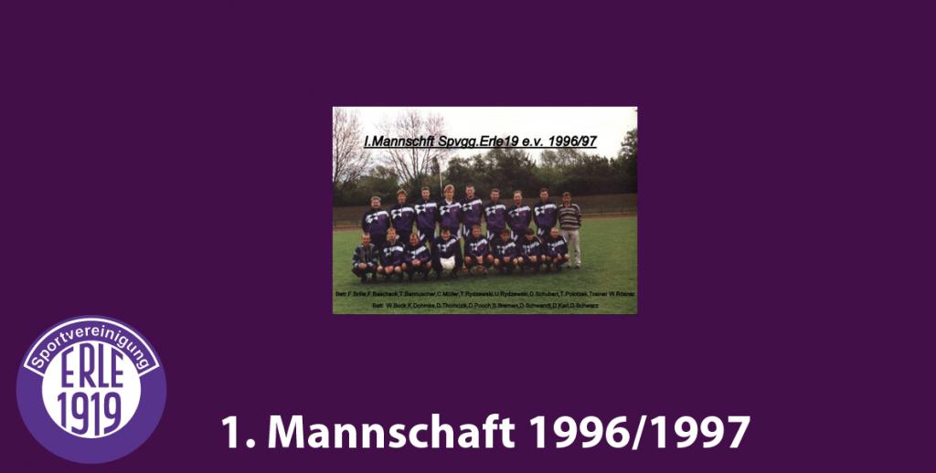 1 Mannschaft 1996/1997