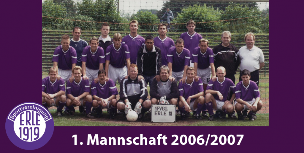 1 Mannschaft 2006/2007