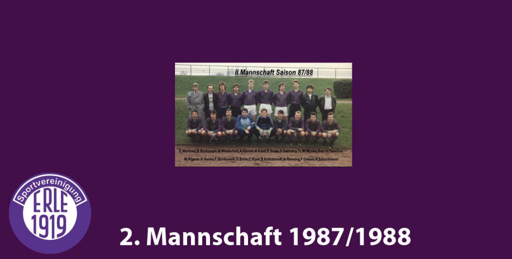 2 Mannschaft 1987/1988
